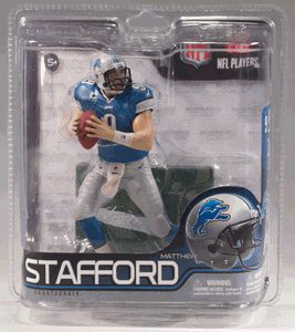 Mc Farlane Toys Nfl Sports Picks Series 29 Exclusive Action Figure Matthew Stafford (detroit Lions)