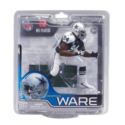 De Marcus Ware Dallas Cowboys Thanksgiving Throwback Jersey Exclusive Mc Farlane Nfl Series 30